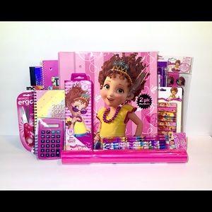 Fancy Nancy School Supply Set Bundle-33 Items